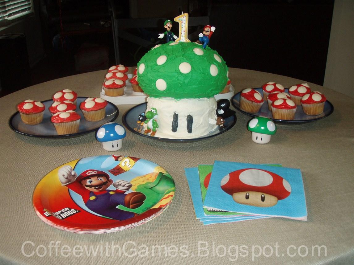 1up Mushroom Cake Coffeewithgames S Blog